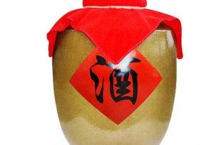 珍藏的酱香封坛白酒 经典的女儿红故事