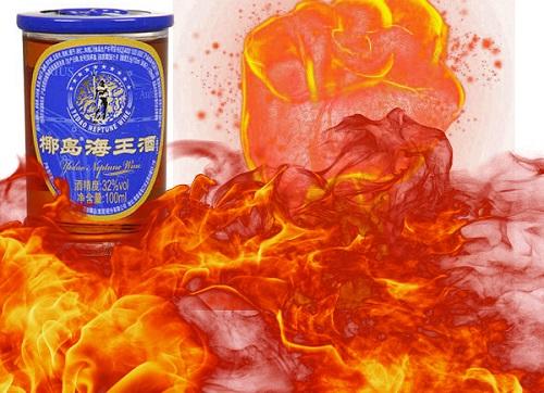椰岛海王酒进入内陆市场