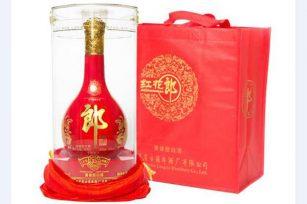 酱香型白酒红花郎15年53度的红花郎酒价格