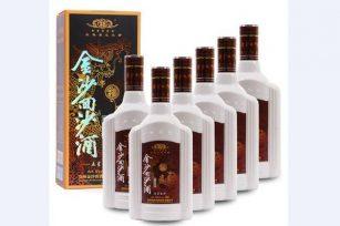51度五星金沙回沙酒 贵州酱香型白酒金沙窖酒
