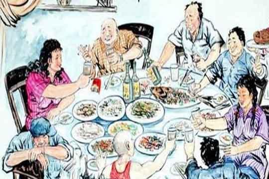 河南人酒桌上的酒文化