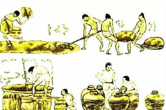 古代的白酒是怎么酿造出来的