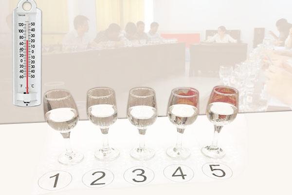 温度对白酒品评的影响