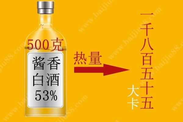 一斤白酒的热量是多少