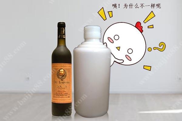 红酒的包装瓶能装白酒吗