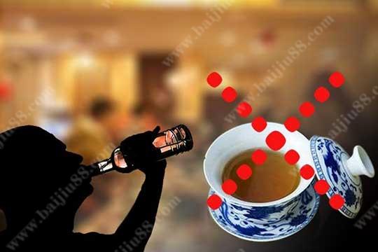 为什么喝酒后不适合饮用浓茶