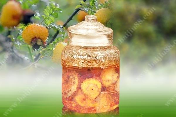 自酿自饮的刺梨酒如何制作?喝了有什么好处?
