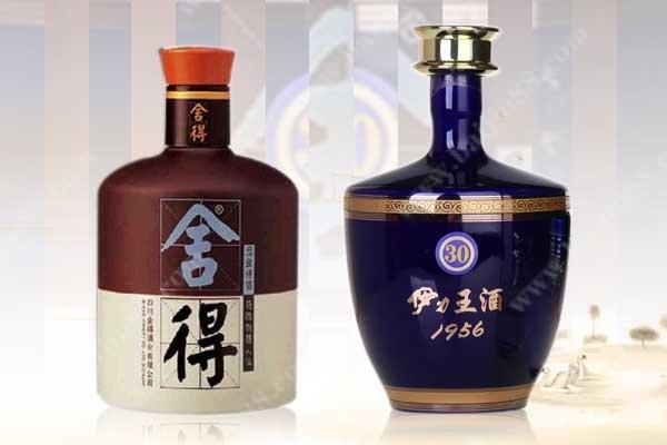 多粮浓香次高端白酒品味舍得和伊力特蓝王选择哪一个?