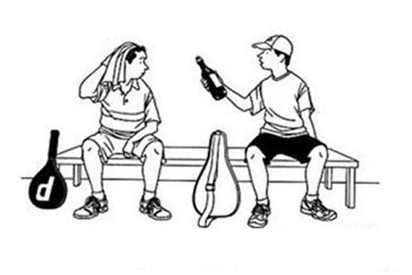 喝酒等于运动