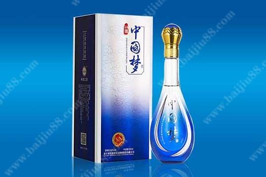 中国梦系列酒的产品以及参考价格