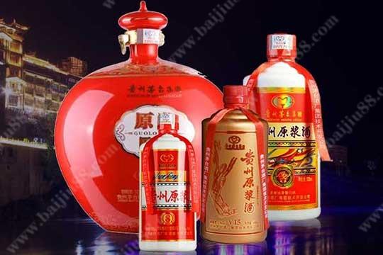 贵州茅台原浆酒有哪几款产品酒
