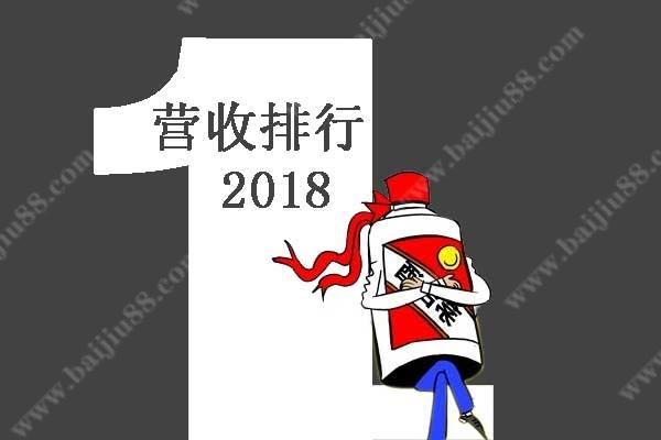 2018年白酒营收排行榜十强前