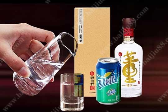 董酒新奇的喝法