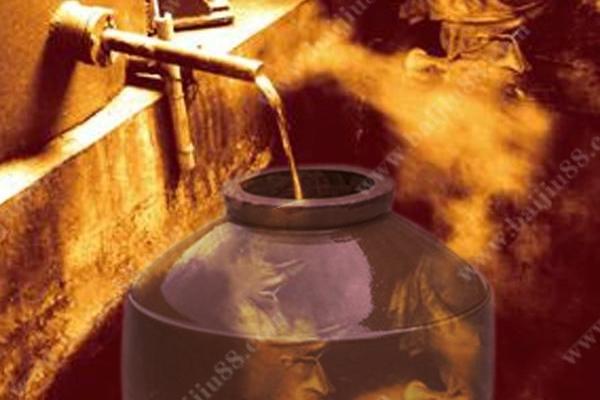 蒸馏酒的接酒方法