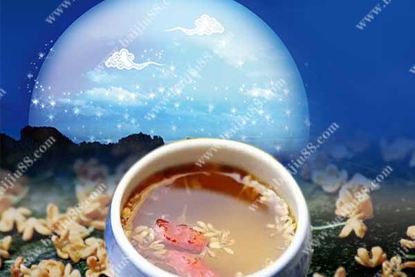 中秋节为什么要喝桂花酒