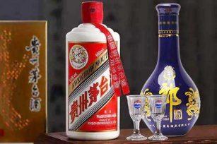 同样是酱香型白酒的郎酒和茅台它们之间喝着有什么区别?