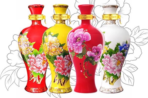 国花瓷西凤酒有哪些系列产品酒